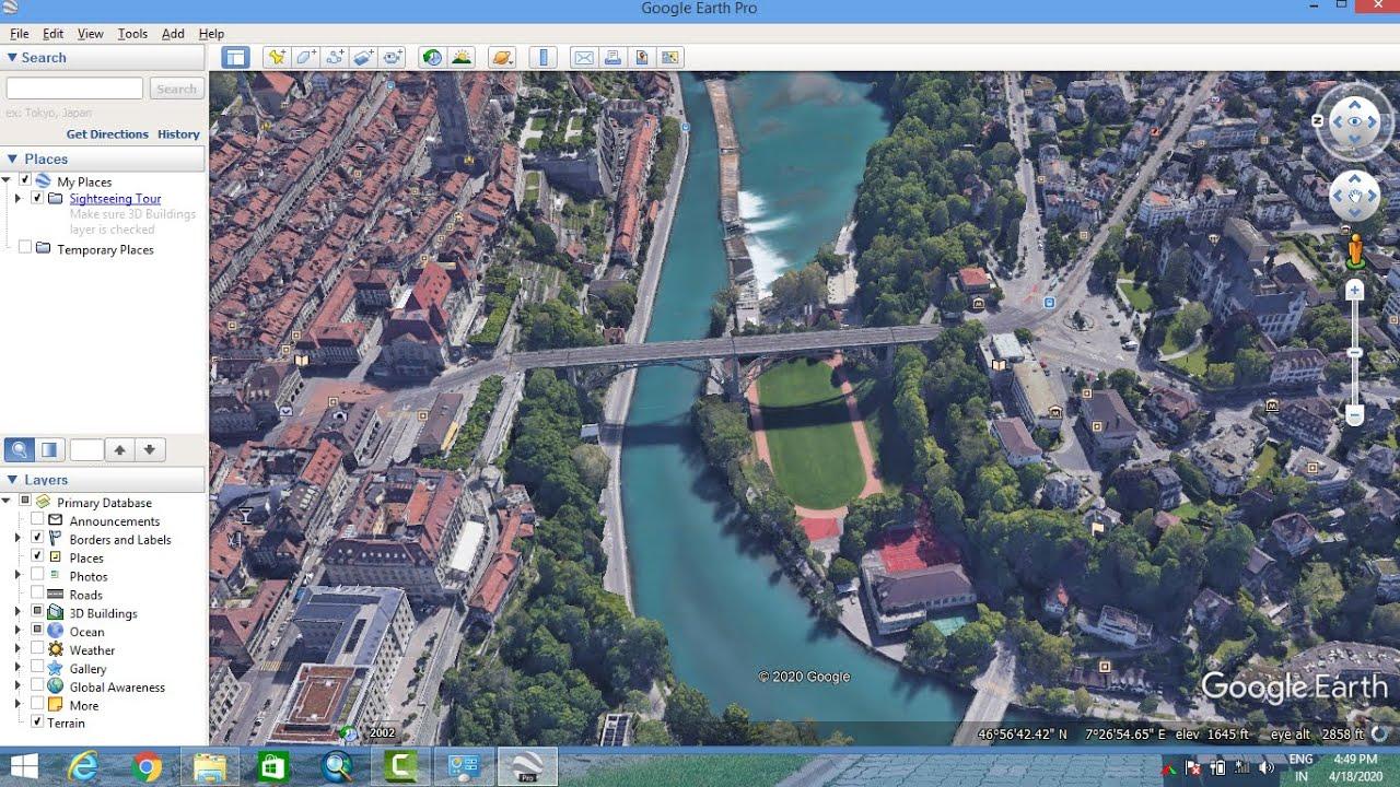Google Earth Pro 2020 Crack and License Keys Free Download