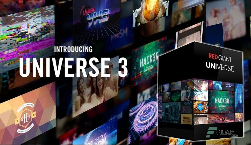 Red Giant Universe 3 logo