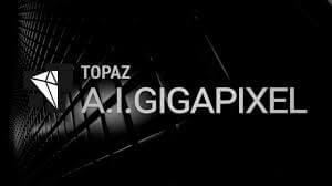 Topaz A.I. Gigapixel logo