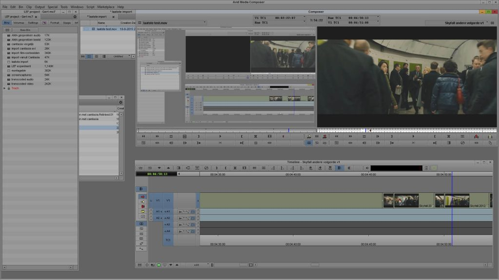 Avid Media Composer screenshots 1