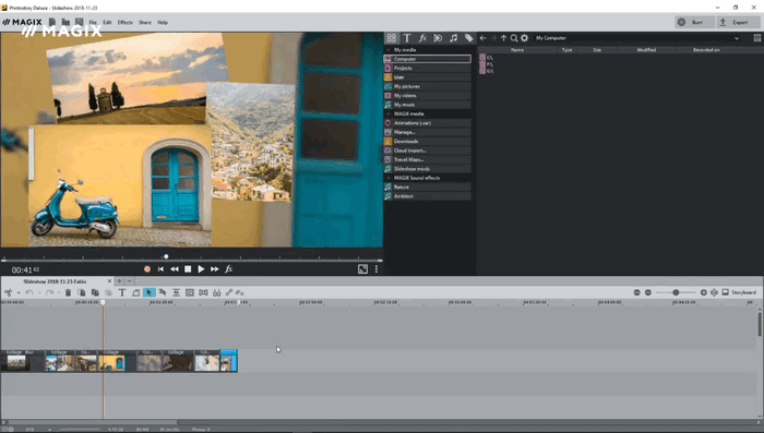 MAGIX Photostory 2021 Deluxe screenshots 2