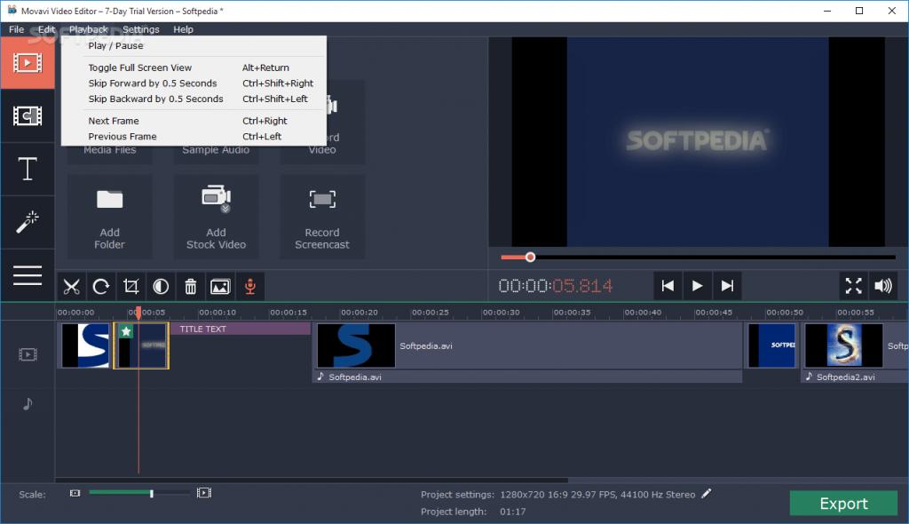 Movavi Video Suite screenshots