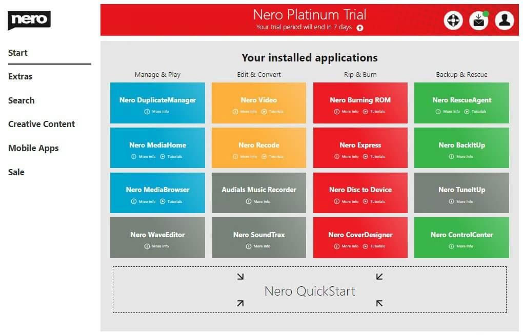 Nero Platinum Suite screenshots 2