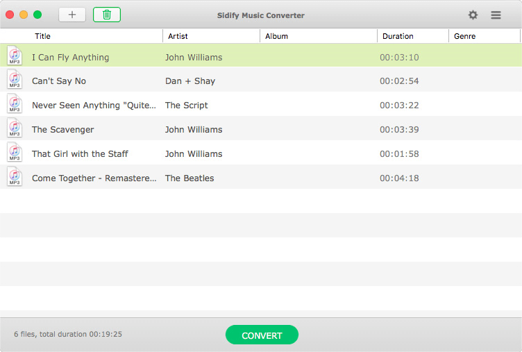 Sidify Music Converter screenshots 5