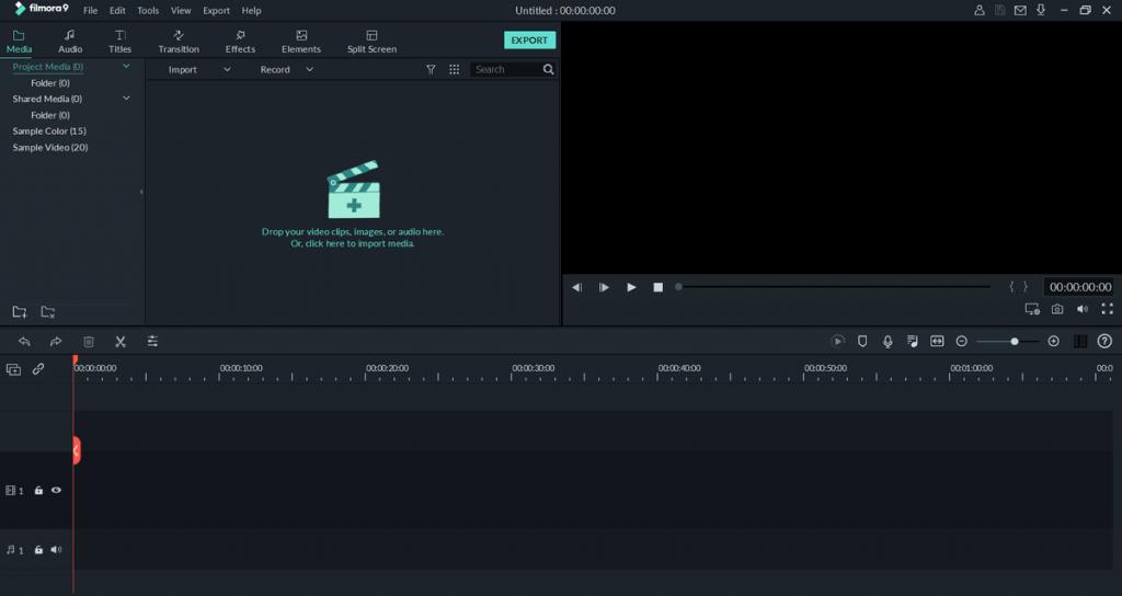 Wondershare Filmora screenshots 1