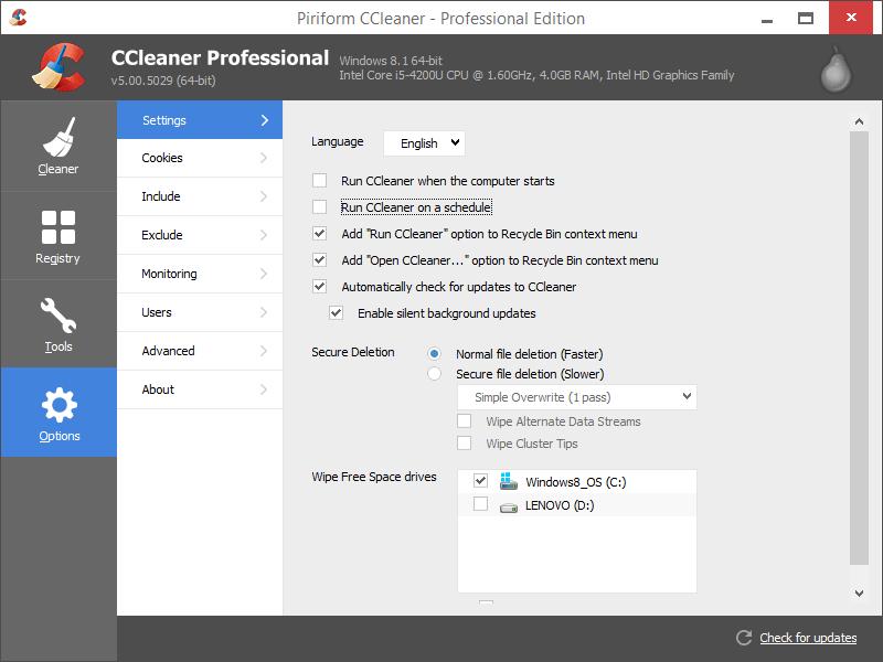 ccleaner pro screenshots 3