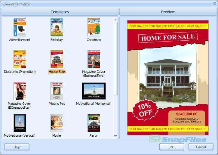 RonyaSoft Poster Printer screenshots