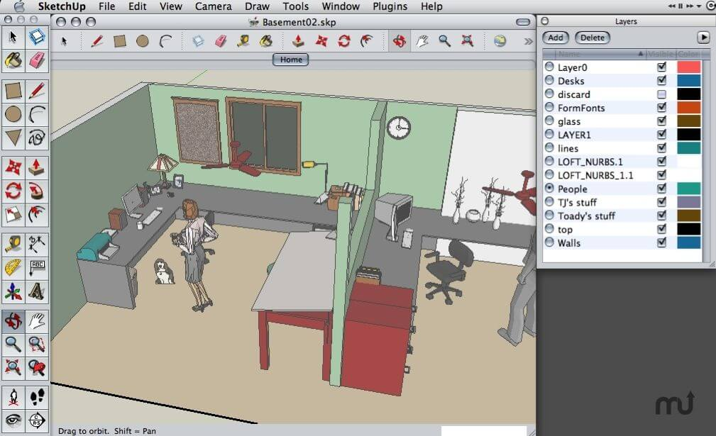google sketchup pro screenshots