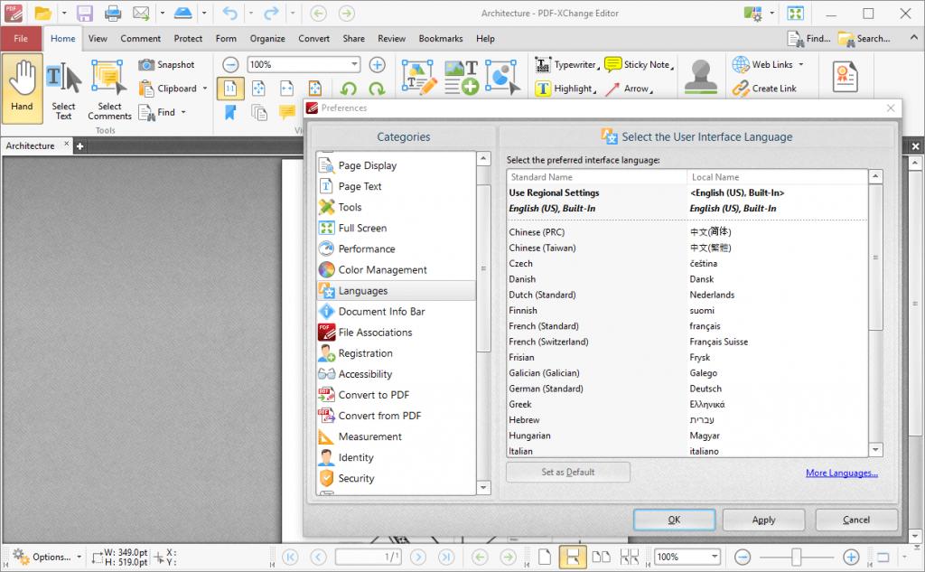 pdf xchange editor plus screenshots