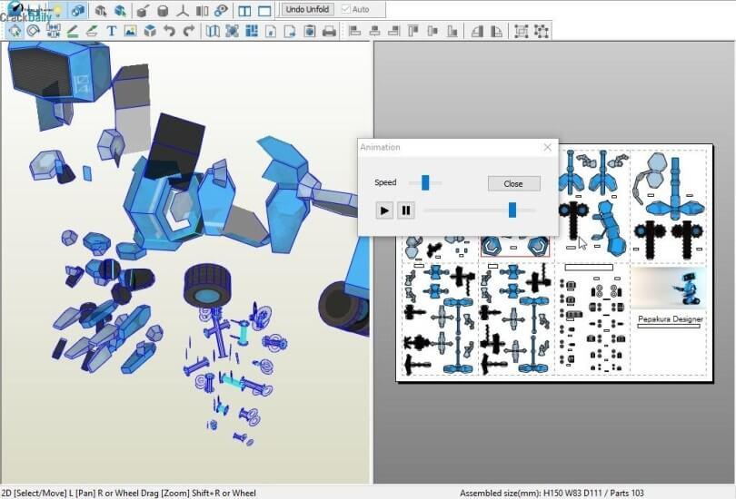 pepakura designer screenshots