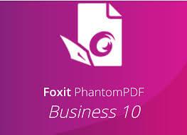 Foxit PhantomPDF Business 10 logo